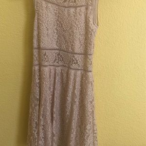 Dress sheer lace